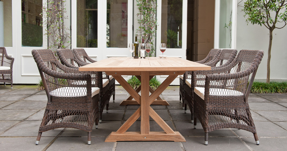 Our outdoor furniture isn't just made for recreation